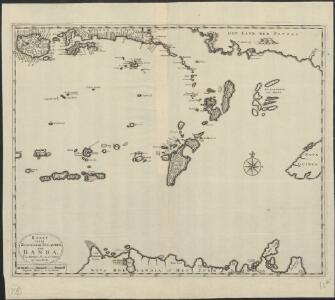 Kaart van de zuyd-ooster eylanden van Banda