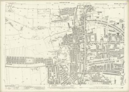 Middlesex XII.3 (includes: Edmonton All Saints; Tottenham) - 25 Inch Map