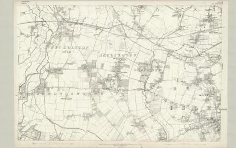 Buckinghamshire LIV - OS Six-Inch Map