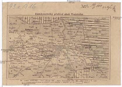 Zeměznalecký přehled okolí Pražského