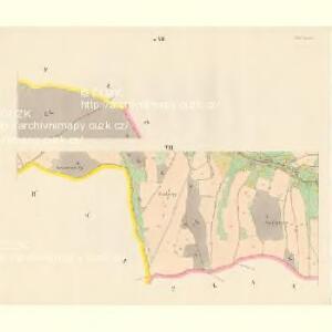 Sattel (Sedloňow) - c6810-1-007 - Kaiserpflichtexemplar der Landkarten des stabilen Katasters