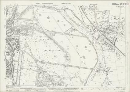 Berkshire XXXII.10 (includes: Clewer Within; Datchet; Eton; New Windsor) - 25 Inch Map