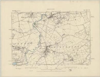 Somerset XXX.NW - OS Six-Inch Map