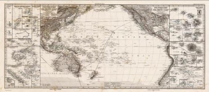 Composite: Polynesien, Grosse Ocean.