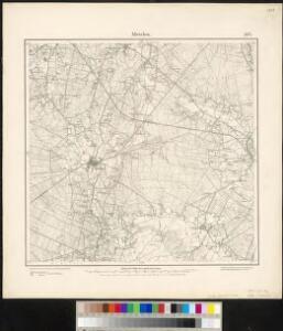 Meßtischblatt 2074 : Metelen, 1897