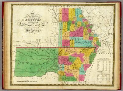 State of Missouri And Territory Of Arkansas.