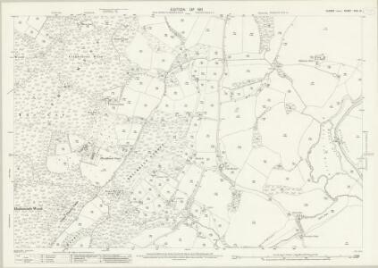 Sussex XXIII.10 (includes: Fittleworth; Kirdford; Wisborough Green) - 25 Inch Map