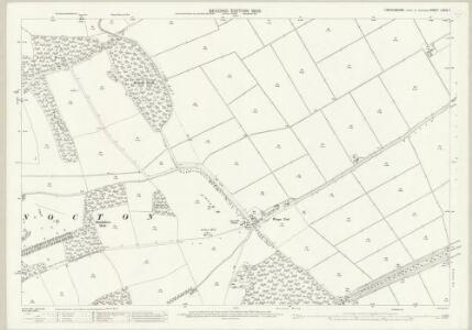 Lincolnshire LXXIX.7 (includes: Dunston; Nocton; Potter Hanworth) - 25 Inch Map