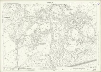 Surrey XVI.11 (includes: Horsell; Woking) - 25 Inch Map