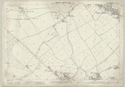 Northamptonshire LXI.1 (includes: Potterspury; Yardley Gobion) - 25 Inch Map