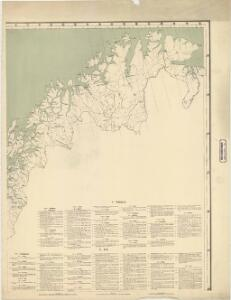 Spesielle kart 64: Norvège Carte Zoo-Géographique, blad 3