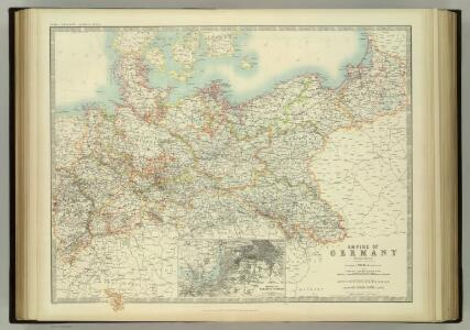 Empire of Germany (northern portion).