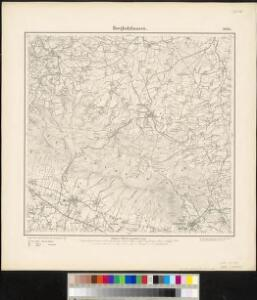 Meßtischblatt 2080 : Borgholzhausen, 1897