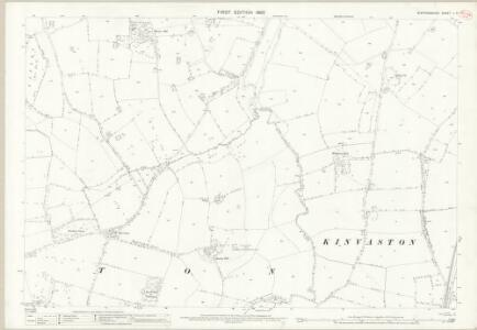 Staffordshire L.6 (includes: Lapley; Penkridge; Stretton) - 25 Inch Map