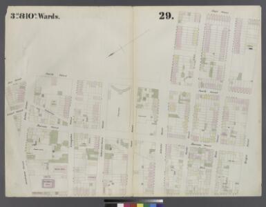 [Plate 29: Map bounded by Joralemon Street, Fulton Street, Smith Street, Atlantic Avenue, Hoyt Street, Bergen Street, Court Street]