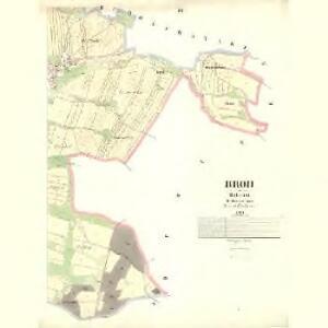 Brod - c8809-1-003 - Kaiserpflichtexemplar der Landkarten des stabilen Katasters