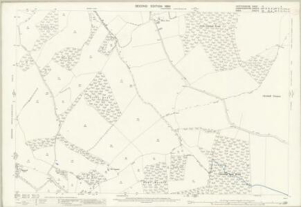 Hertfordshire IX.3 (includes: Barley; Chrishall; Great Chishill; Langley; Little Chishill; Nuthampstead) - 25 Inch Map