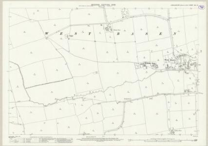 Lincolnshire XLV.10 (includes: Toft Newton; West Rasen) - 25 Inch Map