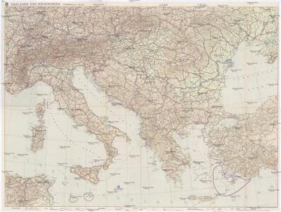 DDAC-Karte von Südosteuropa