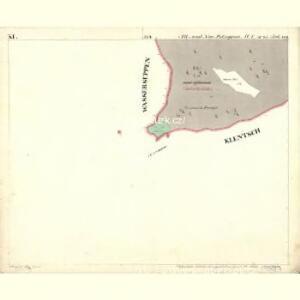 Alt u. Neu Possigkau - c6041-1-011 - Kaiserpflichtexemplar der Landkarten des stabilen Katasters
