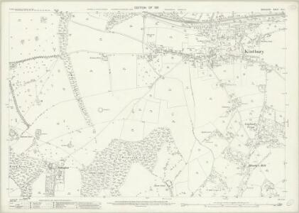 Berkshire XLII.1 (includes: Kintbury) - 25 Inch Map