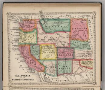 California and the Western Territories.
