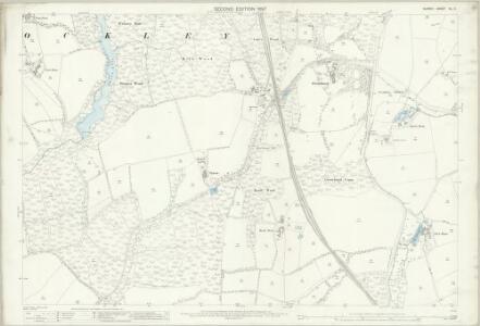 Surrey XL.11 (includes: Capel; Ockley) - 25 Inch Map