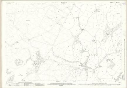 Westmorland XXXIX.8 (includes: Firbank; Killington; Sedbergh) - 25 Inch Map