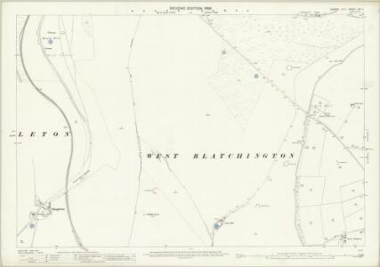 Sussex LXV.4 (includes: Brighton; Hangleton; West Blatchington) - 25 Inch Map