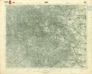 III. vojenské mapování 3959