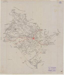 Mapa planimètric de Gandesa