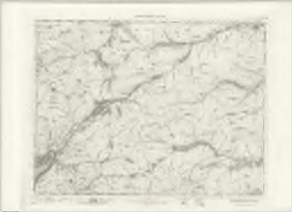 Lochcarron - OS One-Inch map