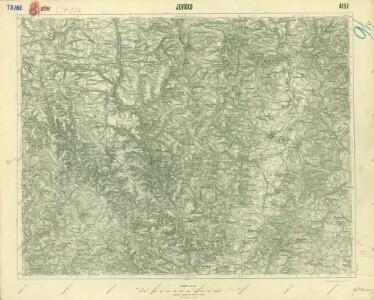 III. vojenské mapování 4157