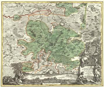 Nova Territori[i] Erfordien[sis] in Suas Praefecturas accurate divisi descriptio cui accedit Erfordiae Urbis exterior Facies et Prospectus