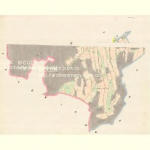 Lautsch (Lauczky) - m1619-1-004 - Kaiserpflichtexemplar der Landkarten des stabilen Katasters