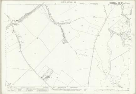 Bedfordshire XXXII.13 (includes: Eaton Bray; Edlesborough; Ivinghoe; Studham; Whipsnade) - 25 Inch Map