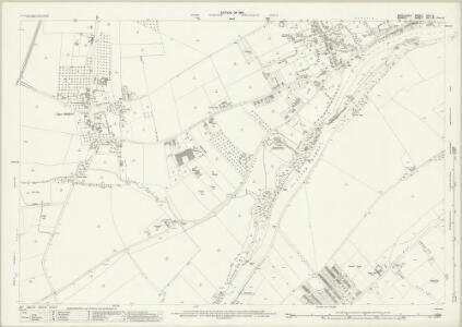 Middlesex XXV.9 (includes: Shepperton; Sunbury; Walton Upon Thames) - 25 Inch Map