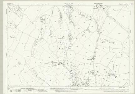 Somerset VII.16 (includes: Charlcombe; Kelston; North Stoke; Weston) - 25 Inch Map