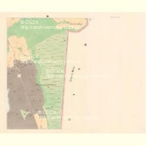 Przibras - c6227-1-004 - Kaiserpflichtexemplar der Landkarten des stabilen Katasters