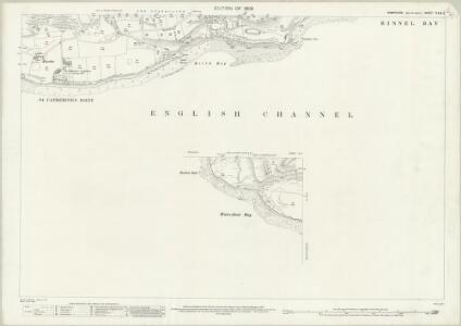 Hampshire and Isle of Wight C.6 & 5 (includes: Chale; Niton) - 25 Inch Map