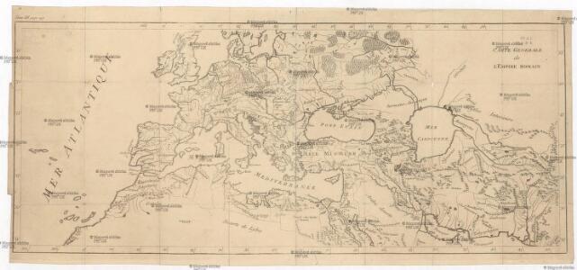 Carte generale de l'Empire romain