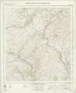 Biggar Moffat and Sanquhar - OS One-Inch Map