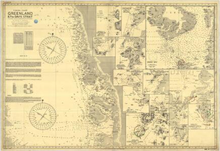 Fishing Chart. Greenland & the Davis Strait