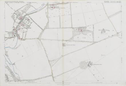 Wiltshire LV.15 (includes: Amport; Cholderton; Newton Toney; Quarley; Thruxton) - 25 Inch Map