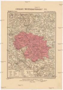 Generalkarte der Bezirkshauptmannschaft Tepl