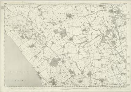Cheshire XIX - OS Six-Inch Map