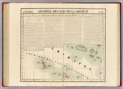 Iles de la Societe. Oceanique no. 42.