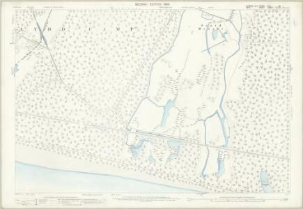 Sussex XLVI.15 (includes: Lydd) - 25 Inch Map