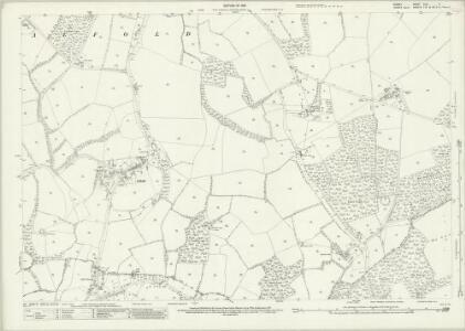 Surrey XLVI.6 (includes: Alfold; Cranleigh) - 25 Inch Map