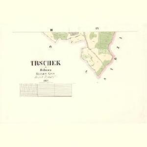 Trschek - c8009-1-002 - Kaiserpflichtexemplar der Landkarten des stabilen Katasters